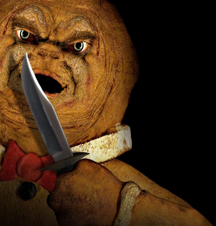Culto total el hombre de jengibre cr nicas zombi for Hombre de jengibre